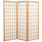 Oriental Furniture 4 ft. Tall Window Pane Shoji Screen