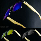 ECHT Sunglasses Vintage Retro Mens Wayfarer Shades Frame Glasses Eyewear Fashion