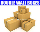 PACKAGING SHIPPING POSTAL STRONG DOUBLE WALL REMOVAL MAILING CARDBOARD BOXES