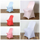 10 pcs Spandex Fitted Folding CHAIR COVERS for Wedding Reception Party Supplies