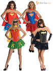 Adult Ladies Sexy Superhero Fancy Dress Halloween Party Hen Night Womens Costume