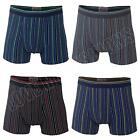 New Mens Cotton Striped Boxer Shorts Trunks Boxers Sexy Underwear Size S M L XXL