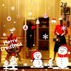 Christmas Decoration Colorful Static Window Sticker Window Films Wall Decals