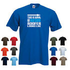 'This is What an Awesome Roofer Looks Like' Funny Men's Roofing Present t-shirt