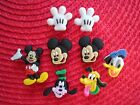 Jibbitz Croc Clog Shoe Charm Plug Buttons WristBands Mickey Mouse Accessories