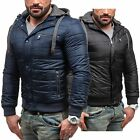 BOLF TP Collection P523 Herren Übergangsjacke Sweatjacke Stepp  Zip 4D4 Kapuze