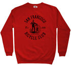 San Francisco Bicycle Club Sweatshirt Crewneck - Bike CA Cycling USA - Men S-3XL