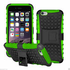 Heavy Duty Shockproof Bumper Hybrid Armor Stand Case For iPhone 5S 6S 7 8 Plus