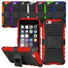 Heavy Duty Shockproof Bumper Hybrid Armor Stand Case For Apple Iphone / Ipod +sp