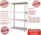 Steel Metal Garage Shelving Boltless Storage Shelving Rack Stand Racking 2135 H