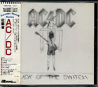 AC/DC Flick Of The Switch 1983 JAPAN Early CD 1988 W/Obi 18P2-2762 RARE OOP