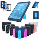 HEAVY DUTY KIDS SHOCKPROOF STAND HARD CASE COVER FOR APPLE iPad 4 3 2 Mini AIR