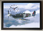Spitfire A4 Picture Clock
