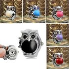 New Creative Retro Owl Finger Watches For Women Clamshell Ring Watch Girl's Gift image