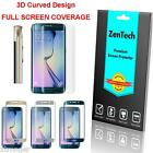 2X 3D Curved FULL COVER Screen Protector For Samsung Galaxy S6 Edge / Edge+ Plus