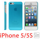 Ultra Thin Slim Matte Transparent Plastic Case Cover for Apple iPhone 5 5S