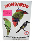 Lorikeet Honeyeater Food 1.5kg to 9kg Wombaroo Red or Yellow Feed Powder Bird