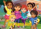 DORA AND FRIENDS b PERSONALISED PLACEMAT