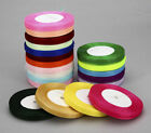 "NEW 50 Yards 3/4""20mm Satin Edge Sheer Organza Ribbon Bow Craft Wedding"