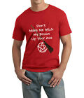 Don't Make Me! Cheeky Witch® Pagan Pentacle Wicca Wiccan Funny Unisex T-Shirt