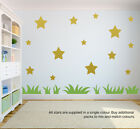 32 Chunky Star Wall Stickers | Wall Decals | Window Stickers | Peel And Stick!