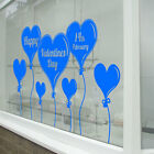 Valentines Day Heart Wall & Window Stickers Decals Shop Window Display Love A331