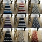 LONG THICK RUNNER SHAGGY RUGS SOFT RUGS NON SHED 5cm PILE MODERN HALL RUNNER RUG