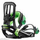 SALOMON RHYTHM Snowboard Bindings Attacchi BLACK/GREEN 375748