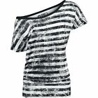 R.E.D. by EMP  Maglia donna - Striped Ladies Shirt
