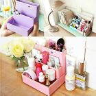 Makeup Paper Board Storage Box Office Cosmetic Organizer DIY Case Stationery