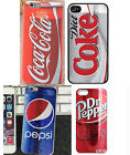 Coca Cola Diet Coke Pepsi Apple iphone 4/ 4S 5/5S 5C 6 6 Plus Back Cover Case £3.99  on eBay