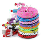 3/6/10FT Hemp Rope Braided Data Sync Charger Cable For iPhone 5 5C 5S 6 6S Plus