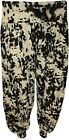 New Womens Plus Size Tie Dye Print Ladies Cuffed Harem Pants Trousers 12 - 26