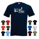 'Probably the Best Father in the World' Funny Father's Day Dad Gift Idea Tshirt