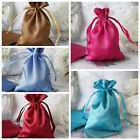 """4x5"""" SATIN BAGS with Pull String Wedding Party Gift Favors Pouches Wholesale"""