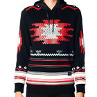 NEW AUTHENTIC TRUKFIT BLACK AZTEC PULLOVER HOODIE THO15KT159