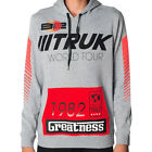 NEW AUTHENTIC TRUKFIT RACING PULLOVER HOODIE THO15KT215 GRAY