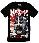 Killers Never Die T`Shirt The SIDESHOW T`Shirt Horror Movie Clown T`shirt