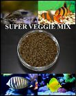 SUPER VEGGIE MIX,Freshwater Shrimp,Catfish,Tangs,Cichlid,Crayfish,Fish Food,Fish