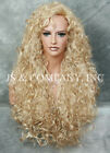 Voluminous Curly Extra Long wig W. Fringe/Bangs  JSN CHOOSE YOUR COLOR!