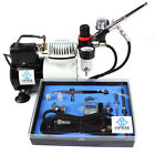 New OPHIR Airbrush Compressor Airbrushing Kit Fan for Craftwork Spraying Tanning