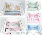 NEW NURSERY COT BUMPER  / * 10  Patterns *  FIT TO - COT 120x60 cm