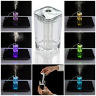 USB Portable Mini Humidifier LED Color Changing Air Diffuser Mist Maker
