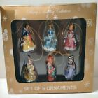 DISNEY'S HOLIDAY COLLECTION SET OF 6 MINIATURE ORNAMENTS NEW IN BOX