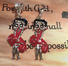 CRYSTAL RED/BLK/SLIVER ENAMEL BETTY BOOP EUROPEAN DANGLE OR LIVING LOCKET CHARM $9.99 USD