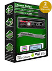 Citroen Relay car stereo radio, Clarion CD Player play USB iPod iPhone Android