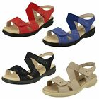 Ladies Padders Wide Fit Sandals Louise