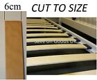 6cm Spare wood metal bed slat.Replacement wooden slatts slats.Curved bent slates