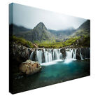 Waterfall in Scotland Canvas wall Art prints high quality great value