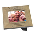 Daddy Love You To The Moon And Back Wood Frame 6x4 Personalised Gift Present
